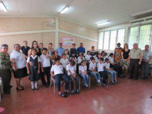 Visita a la Escuela Centro América Este
